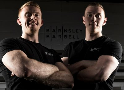 Barnsley barbell town centre